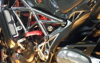 Detail rámu motocyklu Ferat2