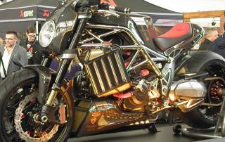 Motocykl Ferat2 pohled z boku