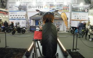 Motocykl Ferat2 - zadní kolo